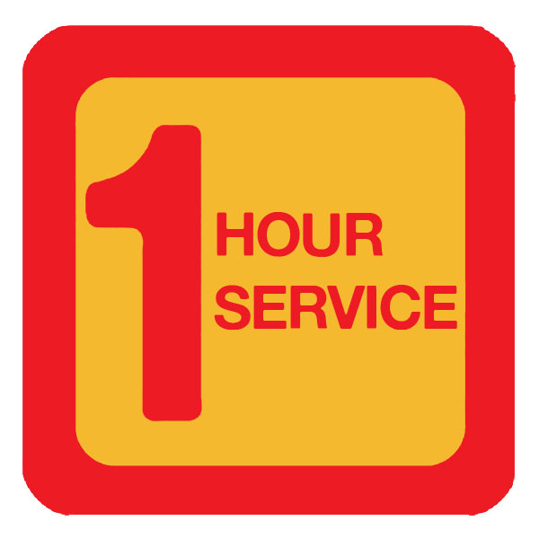 1 Hour Service